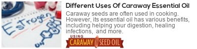 what is caraway  essential oil used for